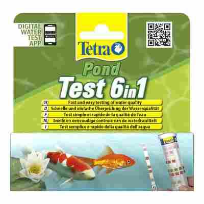 """Teststreifen für Teichwasser """"Pond Test 6in1"""""""