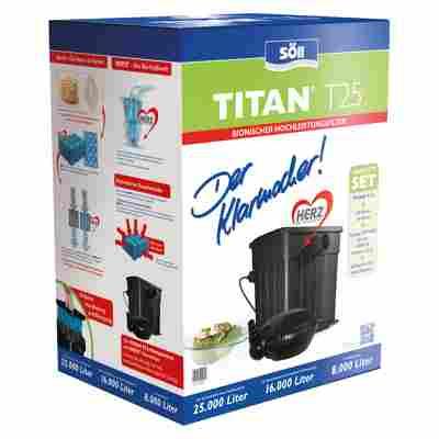 Filterset 'Titan T25' inkl. Pumpe und UVC