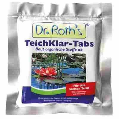 Teichpflege 'Dr. Roth's TeichKlar'-Tabs 4 Stück