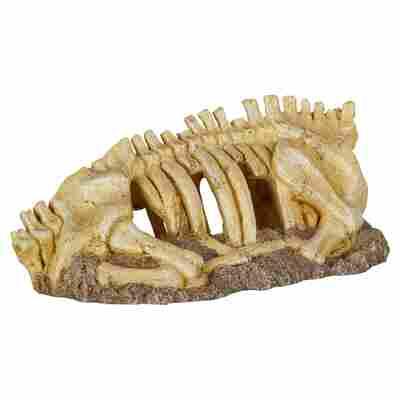 Deko-Skeletttorso Polyresin beige/braun 30 x 14 x 13 cm