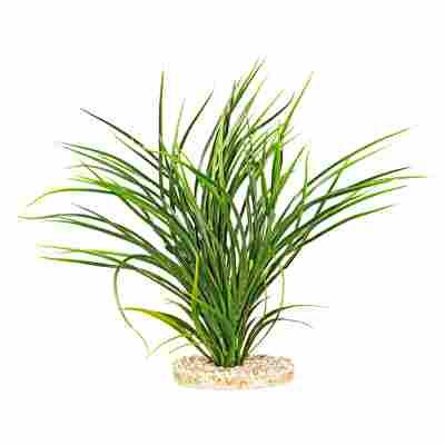 "Aquarienpflanze ""Fan Grass"" Kunststoff 30 cm 2 Stück"