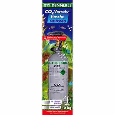 CO2 Mehrwegflasche 2000 g Dennerle