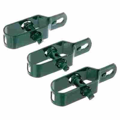 Drahtspanner aus Stahl, grün 3 Stück