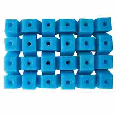 Filterschwamm fein, blau, T25/T50