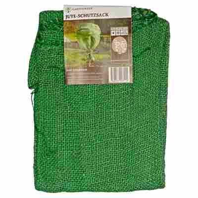 Jute-Schutzsack grün 80 x 60 cm