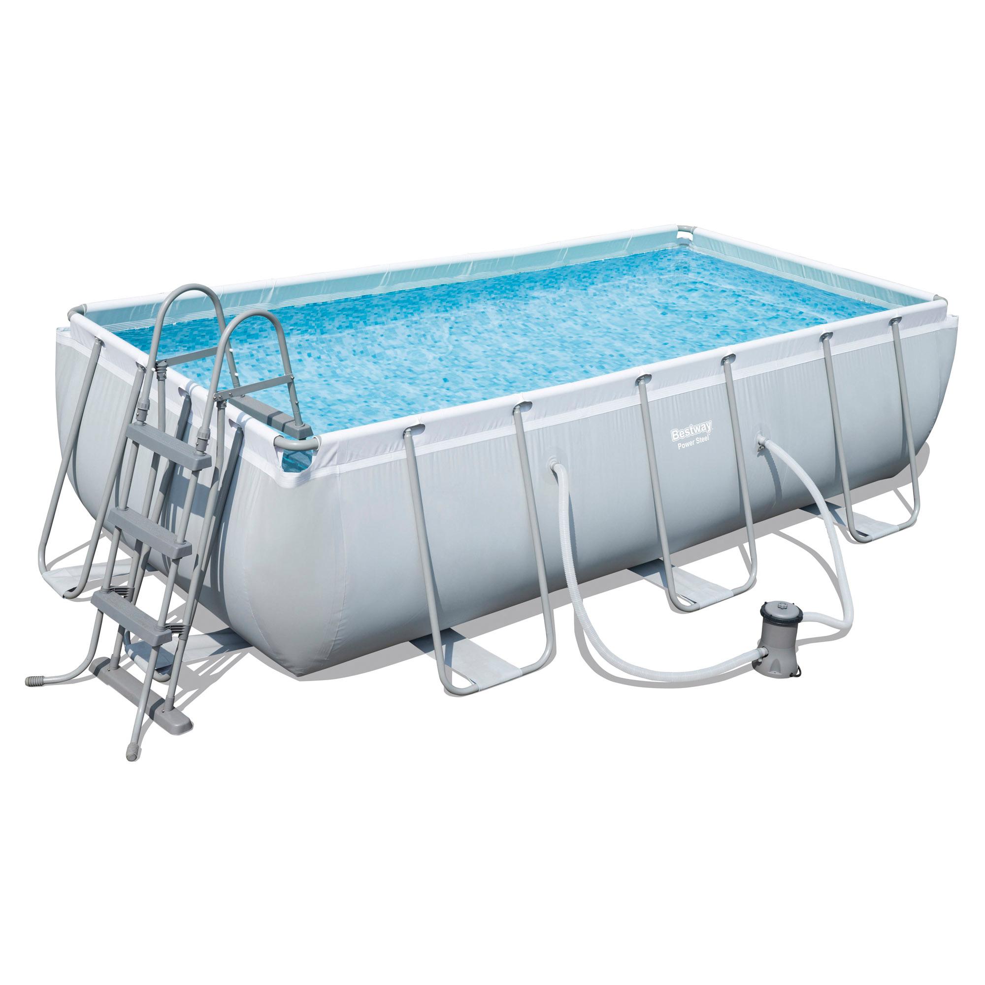 "frame-pool ""power steel"" rechteckig 404 x 201 x 100 cm ǀ toom baumarkt"
