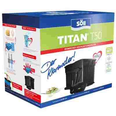 Filterset 'Titan T50' inkl. Pumpe und UVC