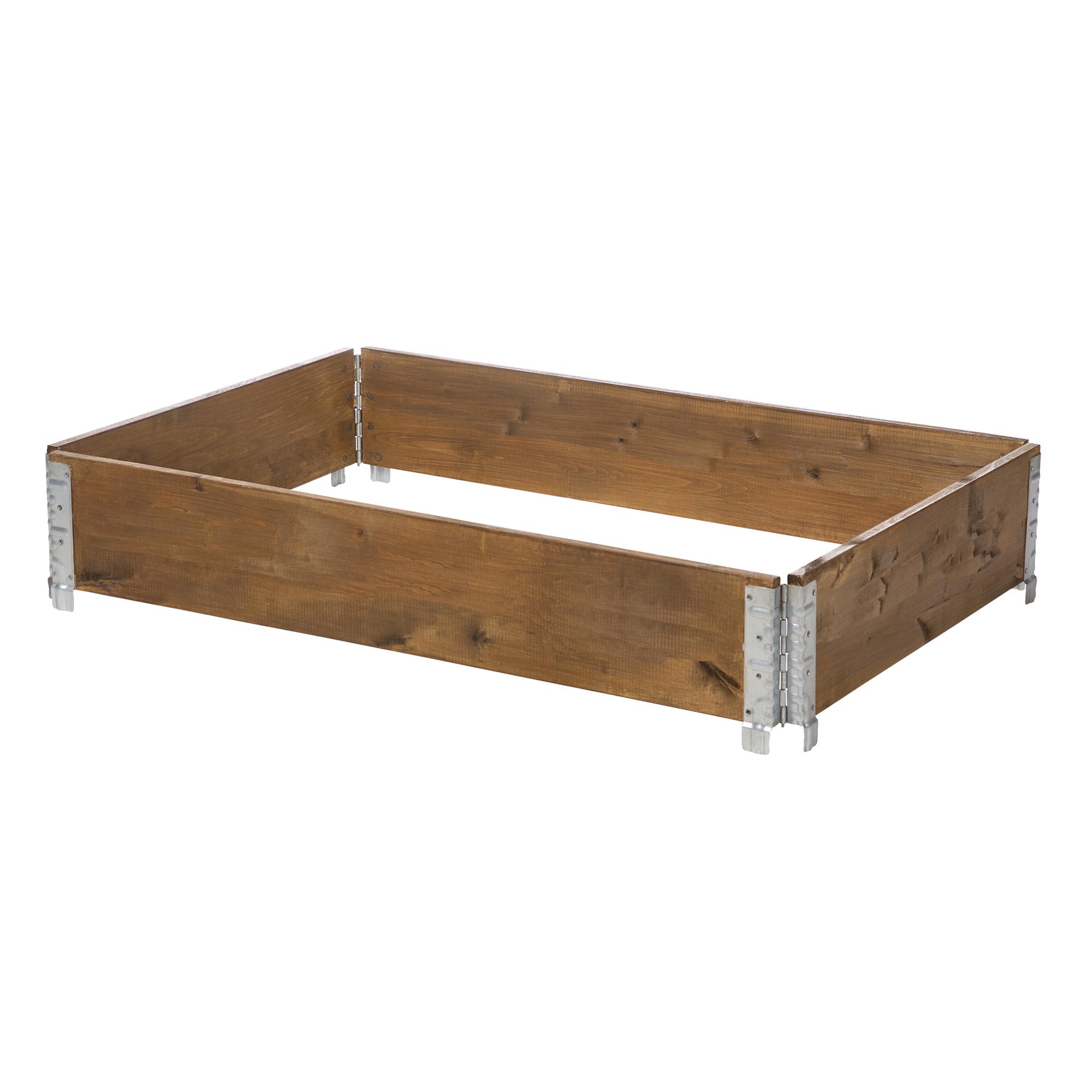 Holzbeet Linda 120 X 80 Cm Braun ǀ Toom Baumarkt