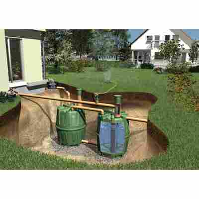 Tanksystem Herkules 'Komplettpaket Garten' grün, 3200 l