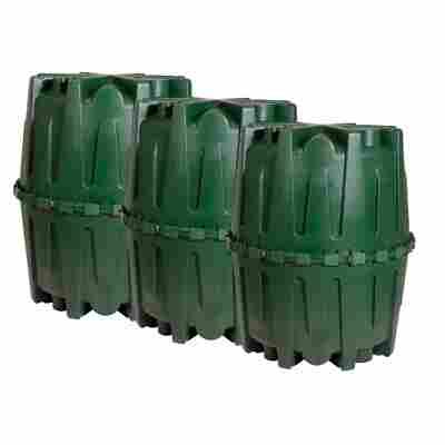 Regenwassertank-Set Herkules grün, 4800 l