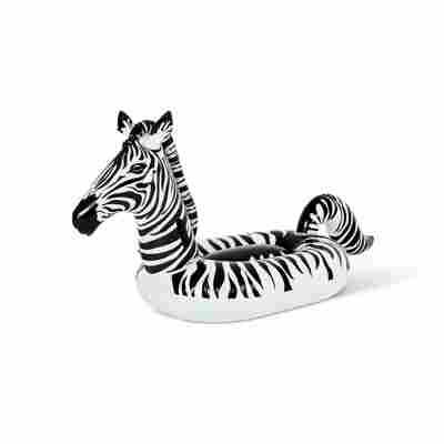 Schwimmtier 'Zebra' mit LED-Licht 246 x 104 x 122 cm