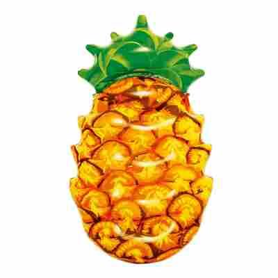 Luftmatratze 'Ananas' gelb 154 x 91 x 23 cm