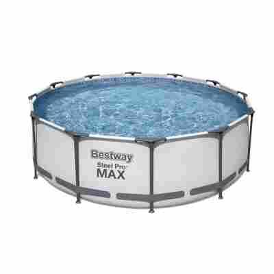 Aufstellpool 'Steel Pro Max' Komplett-Set, rund Ø 366 x 100