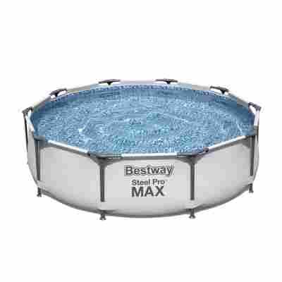Aufstellpool 'Steel Pro Max' rund Ø 305 x 76 cm, mit Filterpumpe