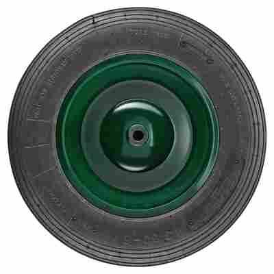 Rad für Gartenkarre grün Gr. 3,5