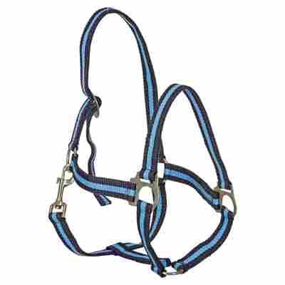 Nylonhalfter Gr. 2 marine/hellblau