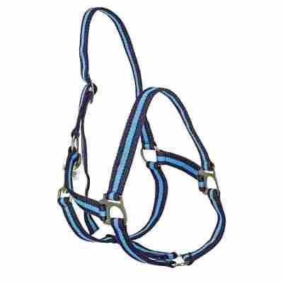 Nylonhalfter Gr. 3 marine/hellblau