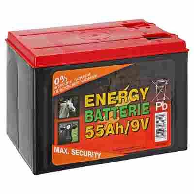 Trockenbatterie Weidenzaun 55 Ah 9 V