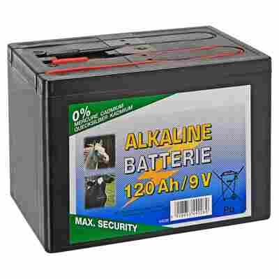 Alkaline-Batterie Weidezaun 120 Ah 9 V