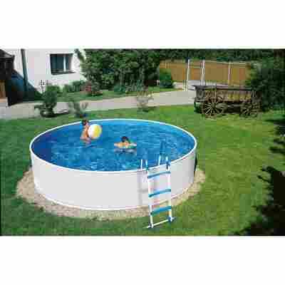 Aufstellpool 'Splash' mit Filterpumpe Ø 350 x 90 cm