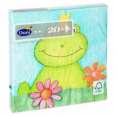 """Papierservietten """"Froggy"""" 33 x 33 cm 20 Stück"""
