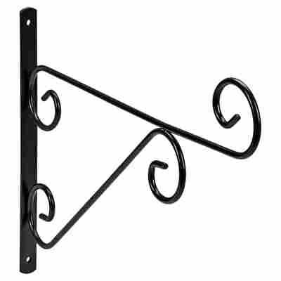 Wandhalter Metall 39 cm schwarz