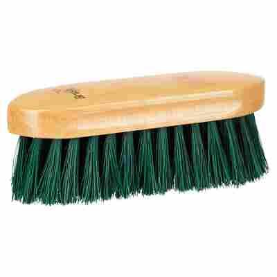 Mähnenbürste Synthetikborsten braun/grün