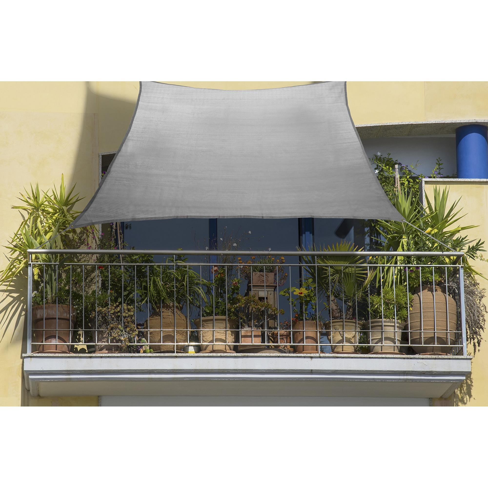 Peddy Shield Balkon Sonnensegel 140 X 270 Cm Anthrazit ǀ Toom Baumarkt