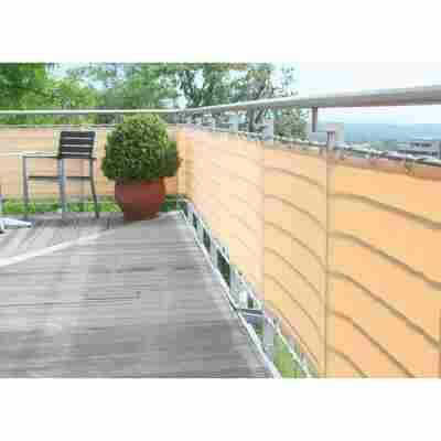 Balkonverkleidung 500 x 90 cm sisal