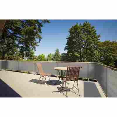 Balkonverkleidung 500 x 90 cm grau