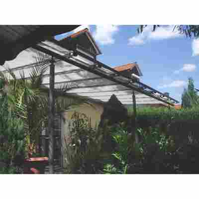 Sonnensegel silbergrau 330 x 96 cm