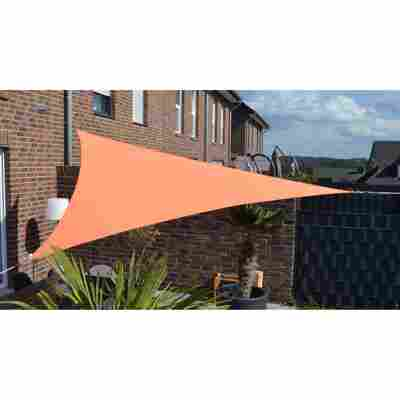 Dreiecksonnensegel terracotta 360 x 360 x 360 cm