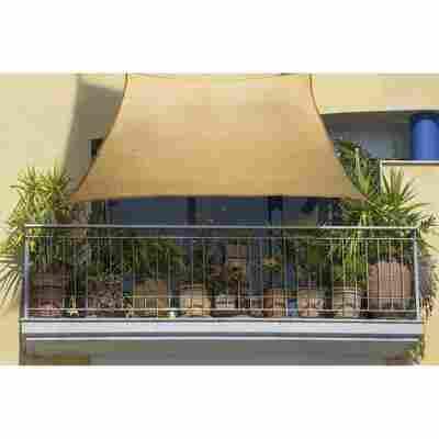Balkon-Sonnensegel weizen 140 x 270 cm