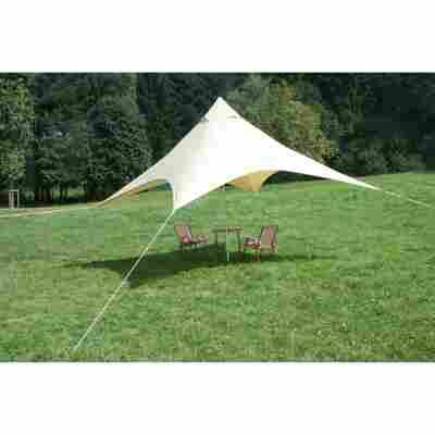 Camping-Sonnensegel 300 x 300 x 250 cm sand