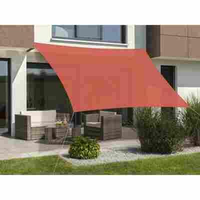 Sonnensegel 'Teneriffa' 500 x 500 cm, terracotta