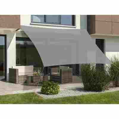 Sonnensegel 'Teneriffa' 500 x 500 cm, silbergrau