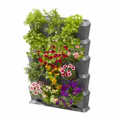 Pflanzbehälter 'NatureUp!' vertikal inkl. Bewässerungsset