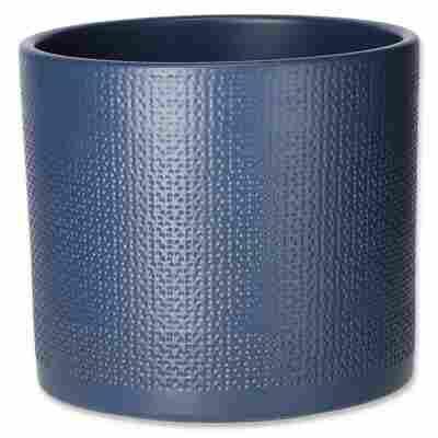 Übertopf 'Cari' blau Ø 15 cm