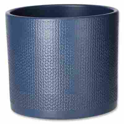 Übertopf 'Cari' blau Ø 19 cm