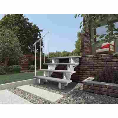 Unterkonstruktion 'Gardenstep KIT 1' für Außentreppe Gardenstep