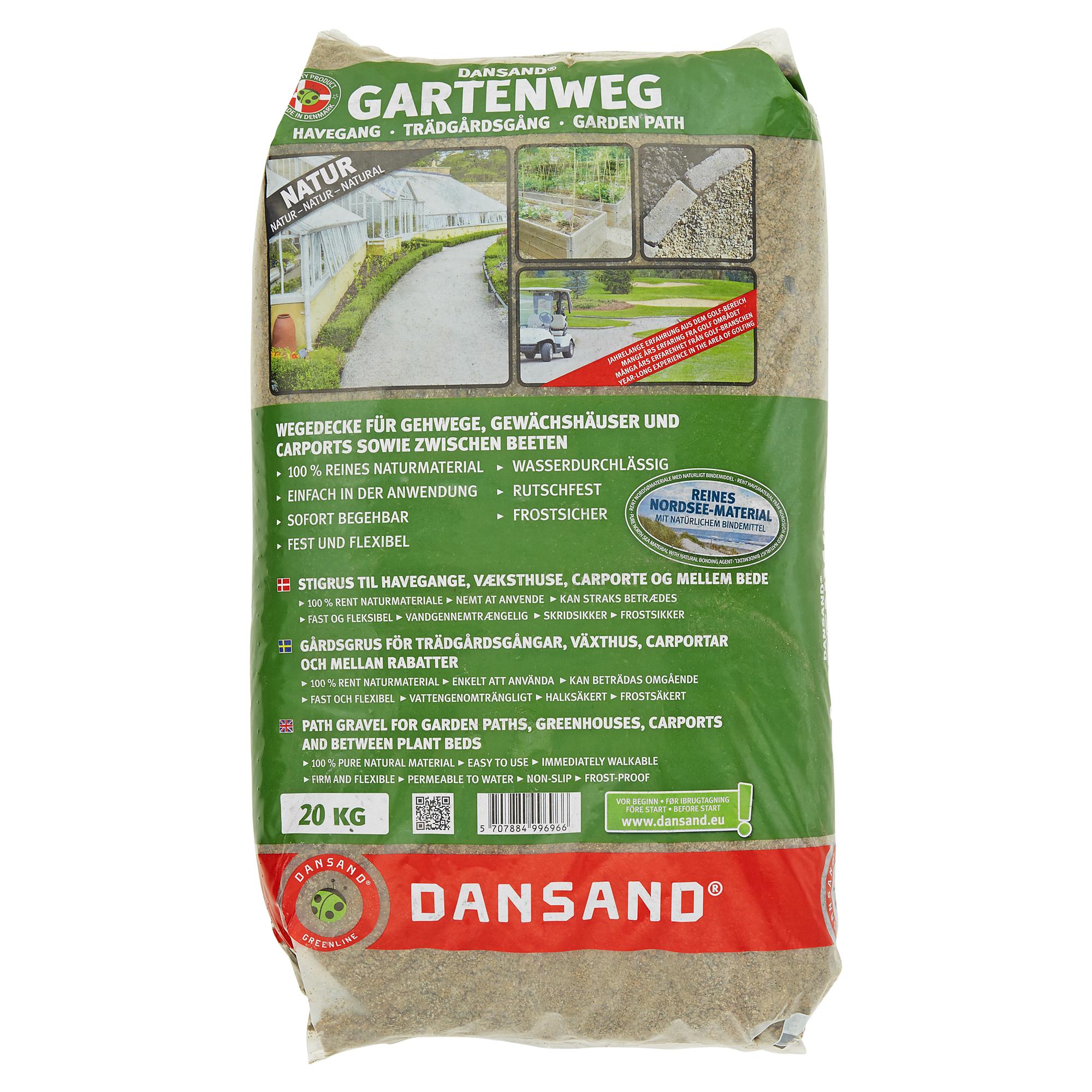 gartenweg naturbelassen 20 kg ǀ toom baumarkt