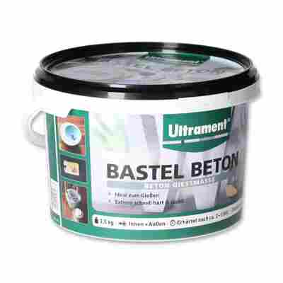 Bastel-Beton grau 3,5 kg