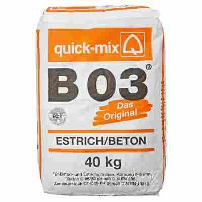 B03 Estrich/Beton