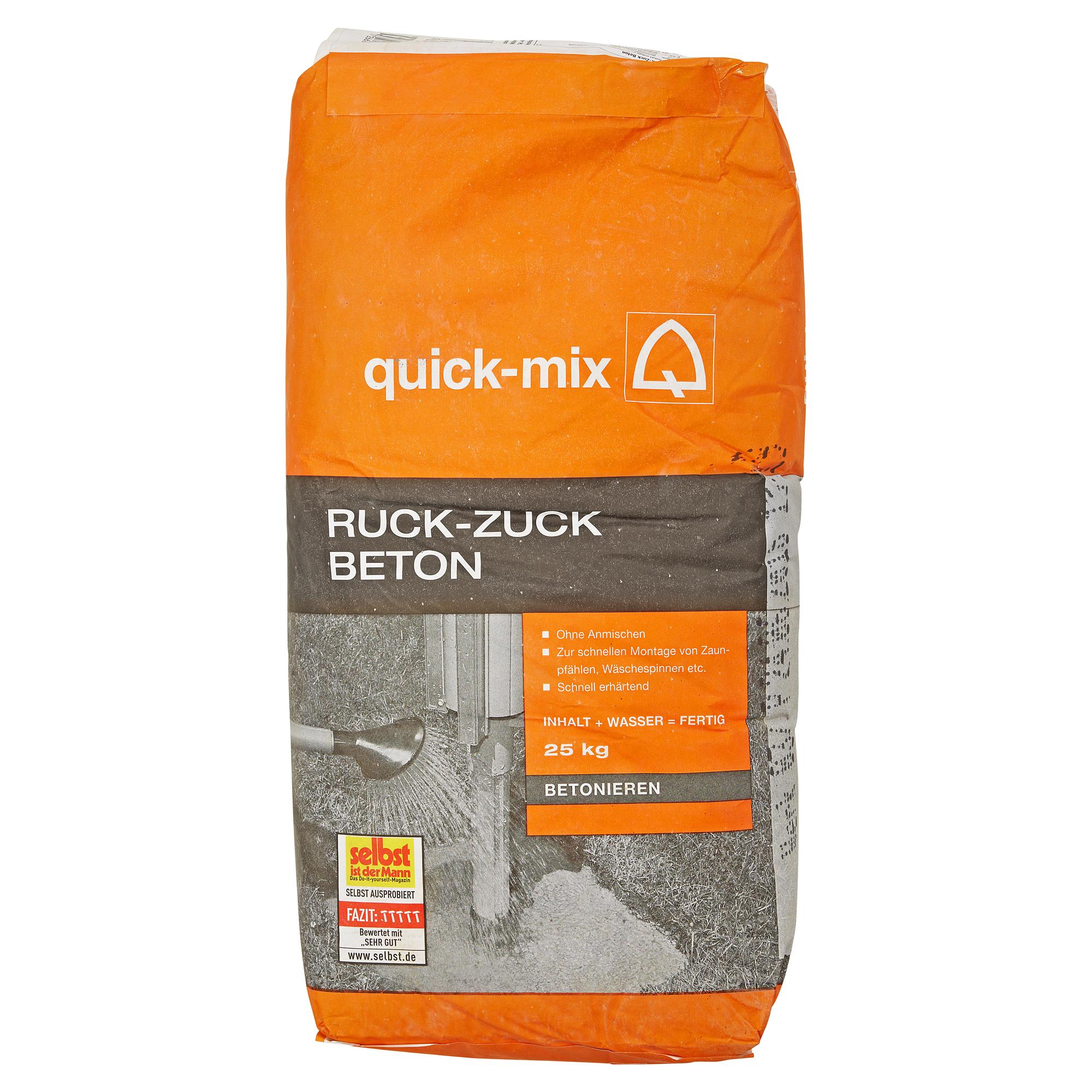 quick mix ruck zuck beton toom baumarkt
