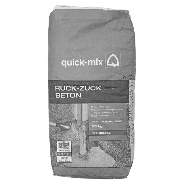 Quick Mix Ruck Zuck Beton ǀ Toom Baumarkt