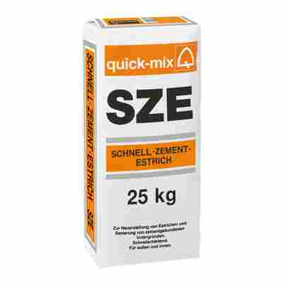Schnell-Zement-Estrich 25 kg