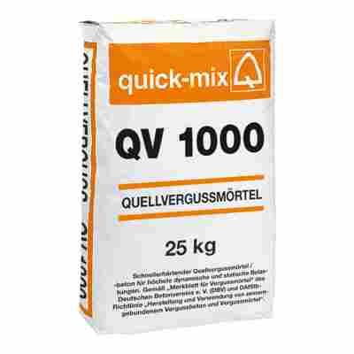 Quellvergussmörtel QV 1000 25 kg 0 - 1 mm