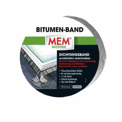 Bitumen-Band blei 5 cm x 10 m