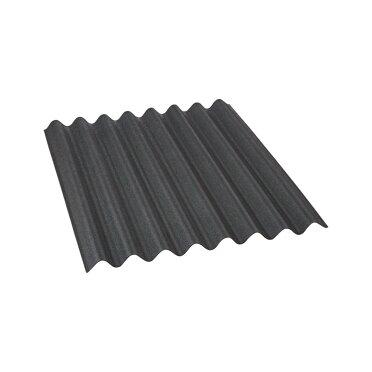 Dachplatte Easyline Bitumen Schwarz 100