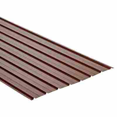 Trapezblech H12 Plus mahagoni 200 x 93 cm x 0,4 mm